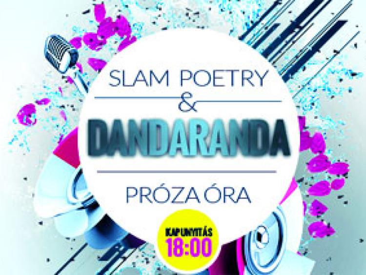 Dandaranda, felolvasás és slam poetry Kürtön