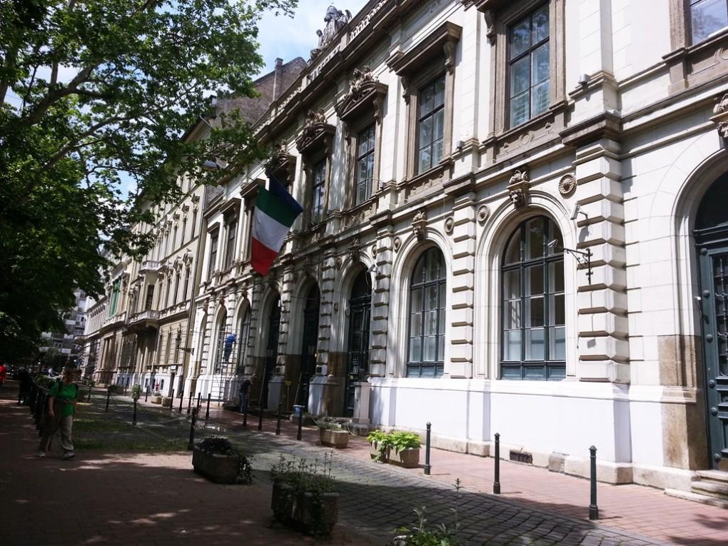 Bródy Sándor utca 8.: a Budapesti Olasz Kultúrintézet