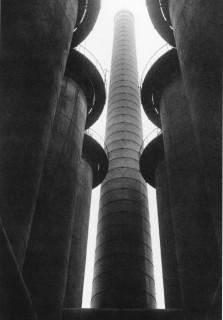 Albert Renger Patzsch, Kauper (Blast furnace Herrenwyk), 1927.