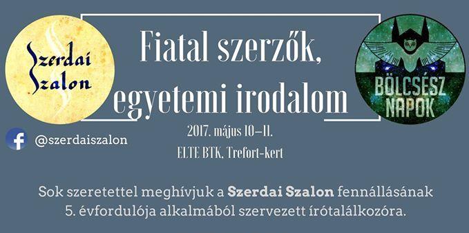 Szerdai Szalon Konferencia – Fiatal szerzők, egyetemi irodalom (galéria)