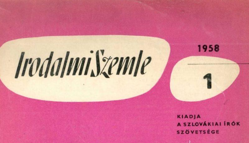 Hát van 60! — Irodalmi Szemle 1958