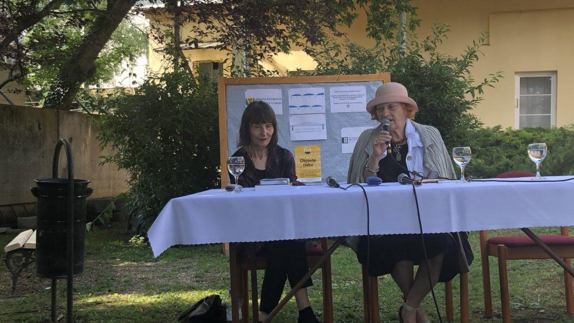 Németh Zoltán: Transzkulturális harmónia – Ilma Rakusa és Mila Haugová Párkányban