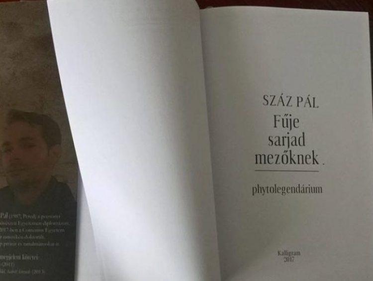 Mellár Dávid: Séta a kertben: Gyökerek (Száz Pál Fűje sarjad mezőknek: Phytolegendárium című kötetéről)