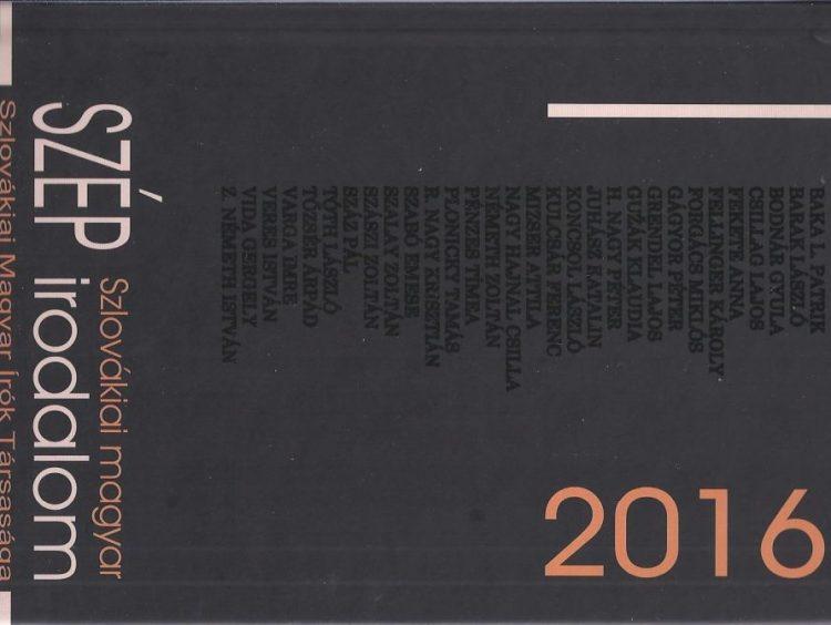 Kosztrabszky Réka: Regionális irodalmi kalauz. A Szlovákiai magyar szép irodalom 2016 és 2017 című kötetekről (kritika)
