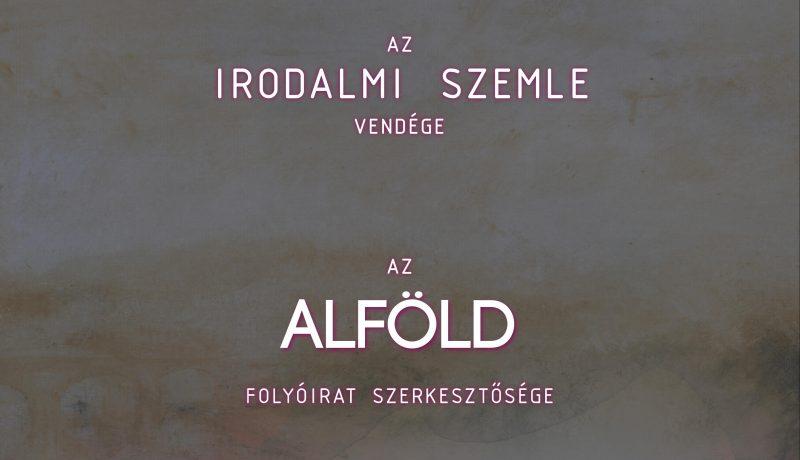 Az Alföld szerkesztősége Pozsonyban (meghívó)