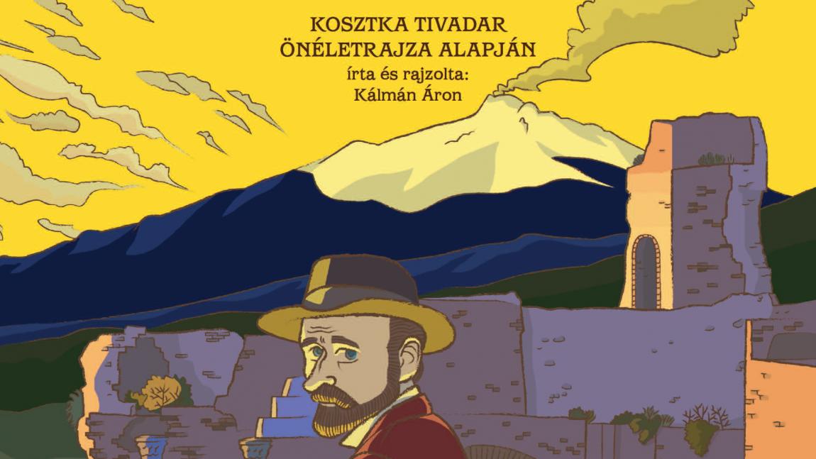 Odaveszett árnyalatok – Vass Norbert kritikája Kálmán Áron Csontváry című képregényéről
