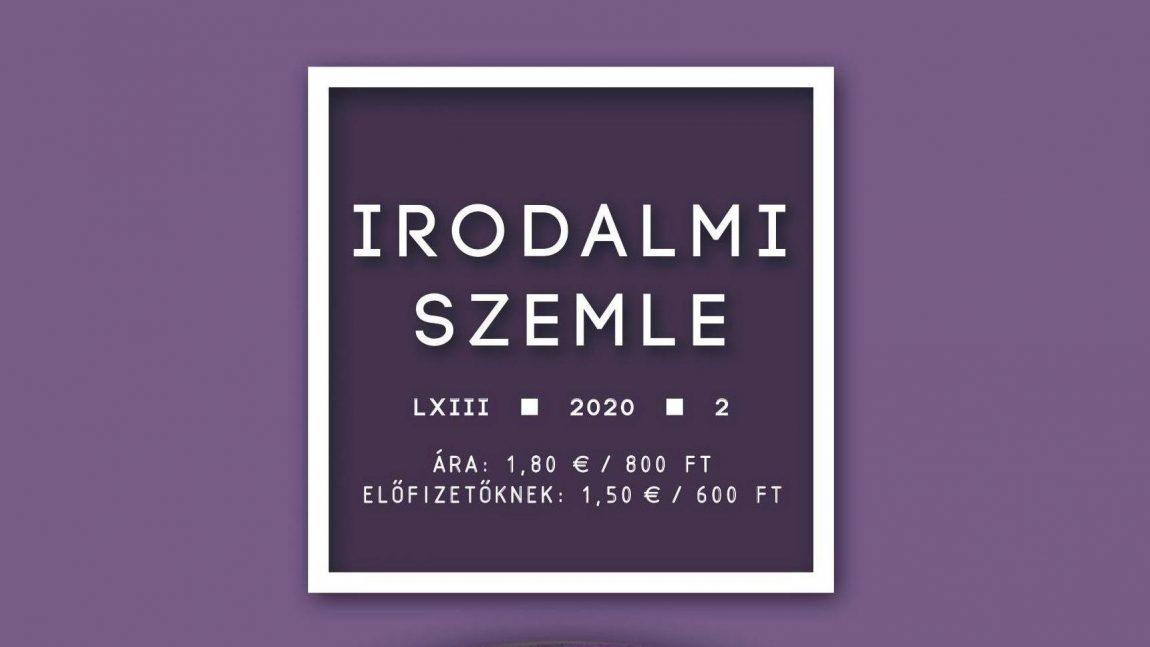Az Irodalmi Szemle 2020/2. száma (tartalom)
