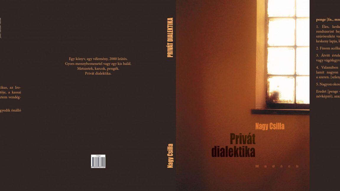 Nagy Csilla: Privát dialektika (könyvajánló)