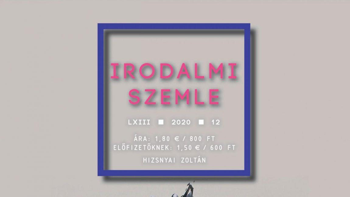 Hizsnyai Zoltán — Az Irodalmi Szemle decemberi száma (tartalom)