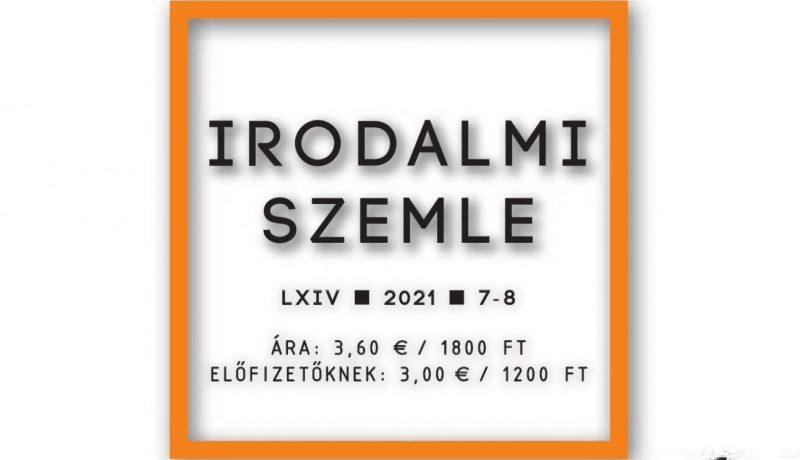 Irodalmi Szemle 2021/7-8. (tartalom)