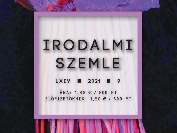 Irodalmi Szemle 2021/9 (tartalom)